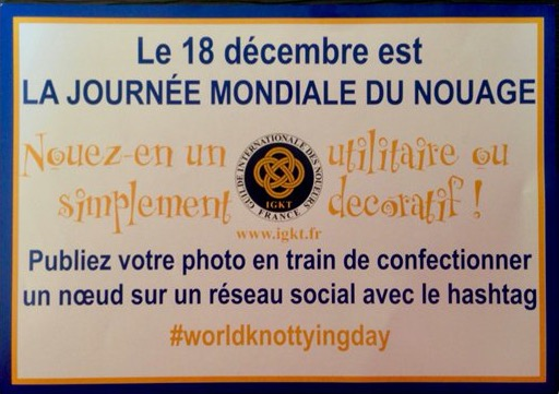 Le 18 décembre la journée du Nouage aura lieu à bord du Marie-Fernand